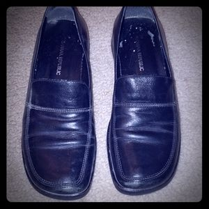 Banana Republic loafers. Made in Italy